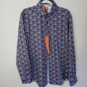 Tallia Dress Shirt button-down collared Sizes S-L